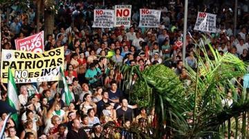 Comité Cívico dice que las protestas seguirán hasta que se respete el 21F