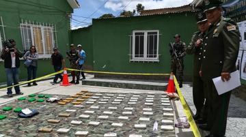 Secuestran 130 kilos de cocaína y detienen a siete personas