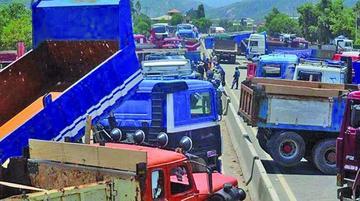 Transporte pesado pospone el bloqueo de las carreteras