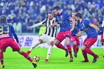 Juventus impone su ley ante Génova