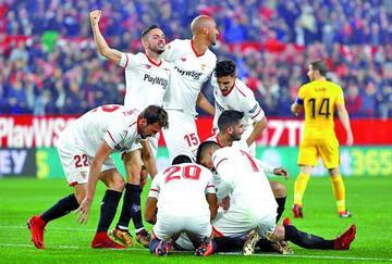 Sevilla elimina a Atlético de la Copa del Rey