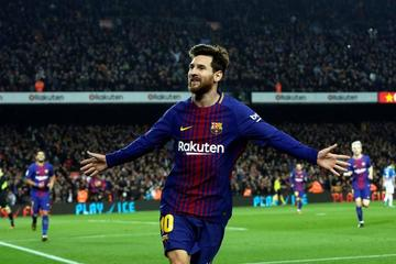 Messi anota el gol 4.000 del Barcelona