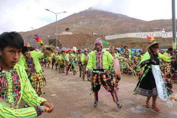 Mineros abren el carnaval potosino