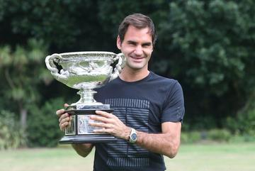 Roger Federer gana su vigésimo título