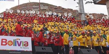 Festival de bandas tiene 6.000 músicos