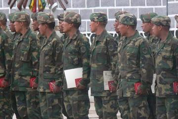 Licencian a soldados del primer escalón
