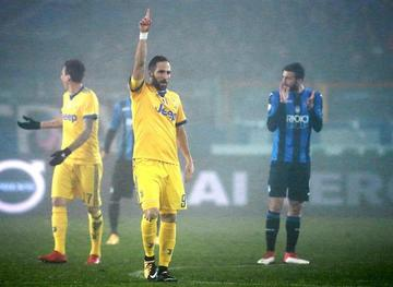 Juventus gana 1-0 a Atalanta