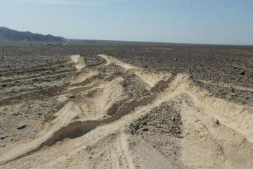 Camión daña las Líneas de Nazca