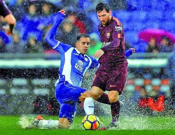 Espanyol consigue un empate ante Barcelona
