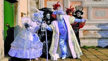 Venecia se pone la máscara  e inaugura su carnaval