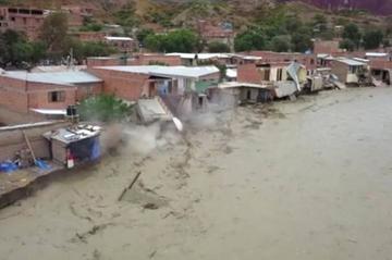 Son 1.519 familias afectadas por los desastres naturales en Potosí