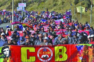 CEN de la COB descarta asistir al congreso en Santa Cruz el 19