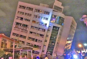 Terremoto en Taiwán causa dos muertos y 202 heridos