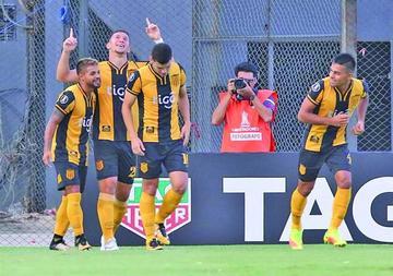 Guaraní espera por Olimpia o Junior tras ganar a Carabobo