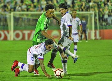 Nacional peleará por clasificar ante Chapecoense