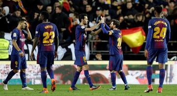 Barcelona se mete en la final de la Copa del Rey