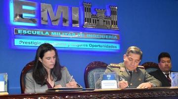 ABEN y Escuela Militar de Ingeniería firman acuerdo de tecnología nuclear