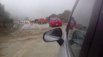 Reportan derrumbes en ruta Sucre - Yamparáez por fuertes lluvias