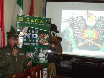 Policía invita a voluntarios a ser parte del Gacip