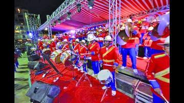 Actúan 82 bandas en fiesta de Oruro