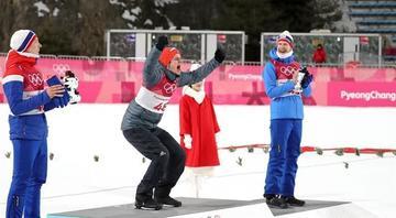 Wellinger es el nuevo campeón olímpico de trampolín corto