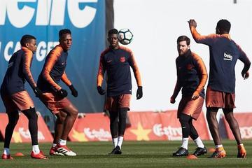 """Barcelona recibe hoy a Getafe en el """"Camp Nou"""""""
