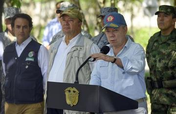 """Doble atentado comienza """"paro armado"""" del ELN en Colombia"""