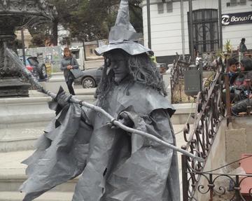 Habrá muestra de estatuas vivientes