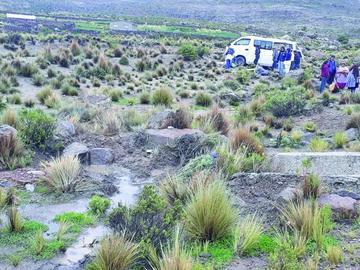 Dos mujeres mueren en un accidente en la vía a Uyuni