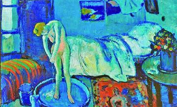 Descubren pintura oculta en un cuadro de Picasso