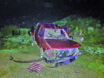 Reportan persona muerta cuatro heridos en accidente