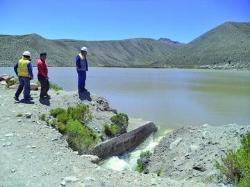 El agua de las lagunas garantiza suministro a los usuarios hasta 2019