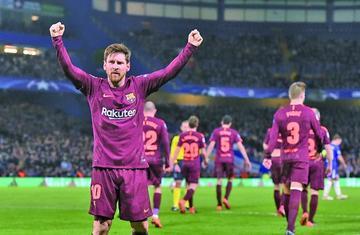 Barcelona empata en Londres
