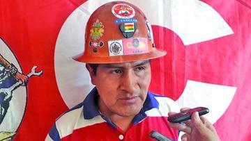 Guido Mitma se retira de la COB y afirma que el Gobierno ganó