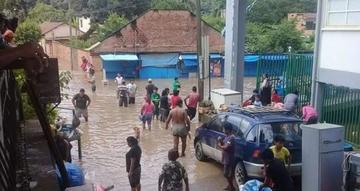Reportan que intensas y persistentes lluvias afectan a 17 mil familias
