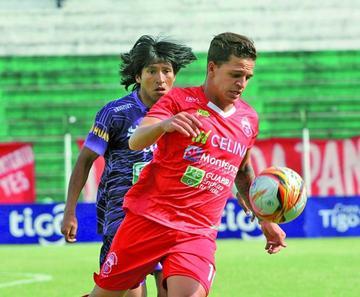 Guabirá golea y frena el ascenso de Real Potosí