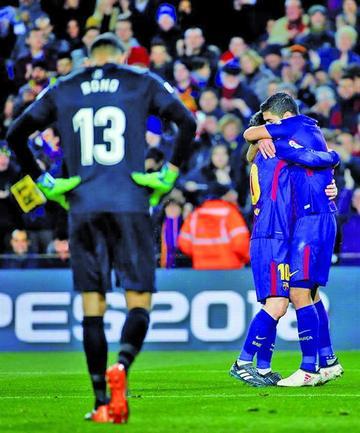 "Barcelona se impone a Girona en el ""Camp Nou"""