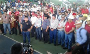 Juan Carlos Huarachi es el nuevo secretario ejecutivo de la COB