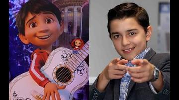 """Resaltan la historia del niño que prestó su voz a """"Coco"""""""