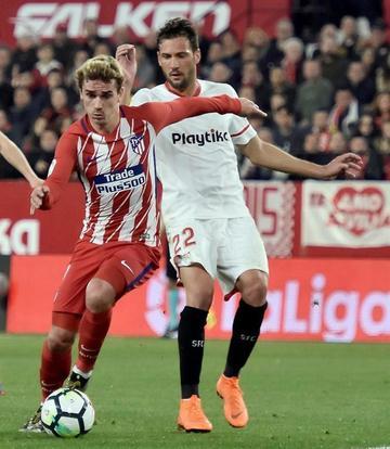 """Atlético golea a Sevilla en el """"Ramón Sánchez Pizjuán"""""""