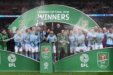 Manchester City se corona campeón de la Copa Liga
