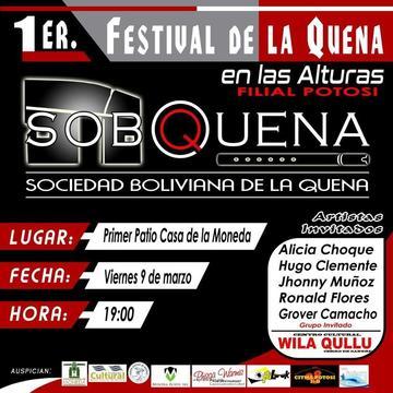Está listo el primer festival de la Quena en las alturas