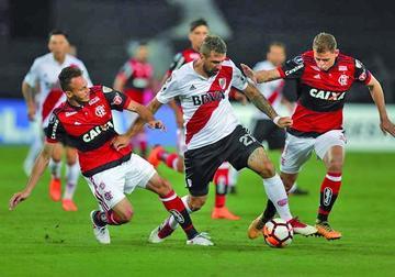 River Plate logra un valioso empate ante Flamengo