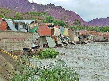 """Heladas """"golpean"""" a cultivos en Chayanta y las lluvias continúan"""