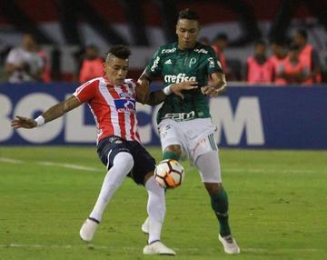 Palmeiras golea a Junior de Barranquilla