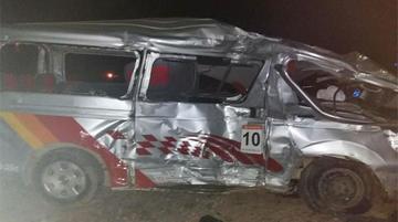 Un accidente deja seis muertos y ocho heridos en ruta a Copacabana