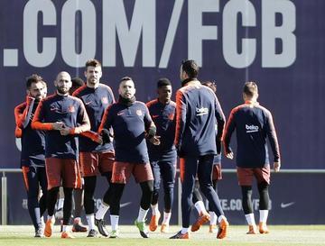 """Atlético protagoniza un cotejo complicado ante Barcelona en el """"Camp Nou"""""""