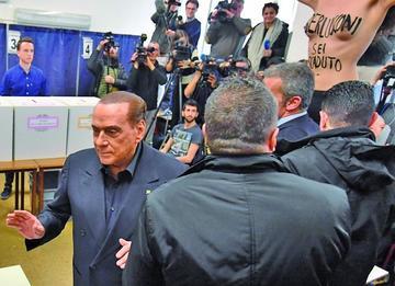 El partido de Berlusconi triunfa en Italia y es seguido por el M5S