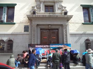 Trabajadores de la CNS decretan paro de 72 horas