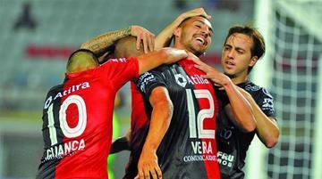 Colón logra su pase a la segunda fase de la Sudamericana